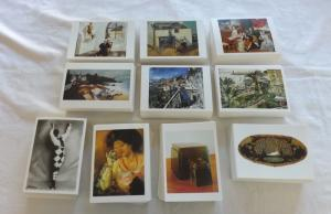 80 Different Brand New Art Photographic Sculpture Postcards Famous Artists PC464