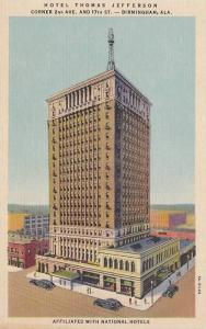 Hotel Thomas Jefferson, Birmingham, Alabama, 1930-1940s