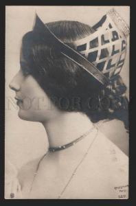 116770 CLEO DE MERODE French BALLET Dancer BELLE Crown PHOTO