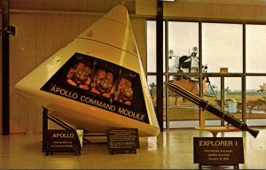 Florida John F Kennedy Space Center NASA Apollo Command Module Model