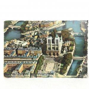 Postcard Vintage1966 Posted Notre Dame Cathedrale Paris France