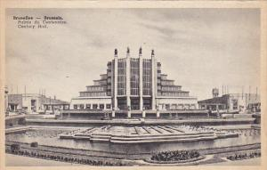 Belgium Brussells Palais du Centenaire