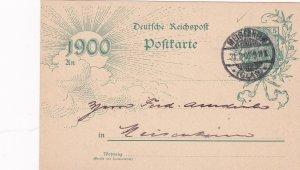 Germany 1900 ; Postal card