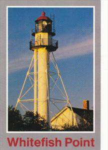 Whitefish Point Lighthouse Oldest Active On Lake Superior Michigan