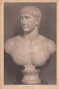 Trajan Roman Emperor Antique Statue Sculpture Postcard