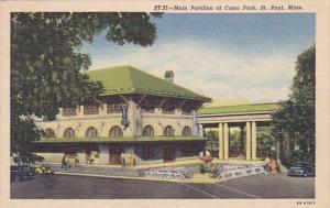Main Pavilion At Como Park Saint Paul Minnesota