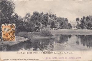BUENOS AIRES, Argentina, PU-1904; Jardin Zoologico, Parque 3 De Febrero