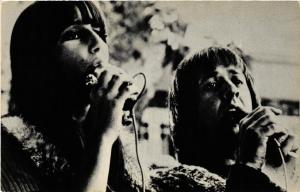 CPA AK SONNY and CHER. Film Star (601604)