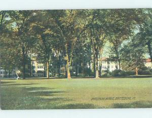 Unused Divided-Back BUILDINGS AT THE RETREAT Brattleboro Vermont VT H5602