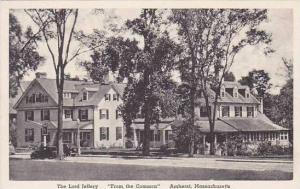 Massachusetts Amherst The Lord Jeffery From The Common Albertype