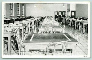 Booneville Arkansas~State Tuberculosis Sanatorium~Patients' Dining Room~1942 B&W
