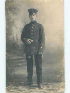 rppc Circa 1915 Military ARMY SOLDIER AC8664