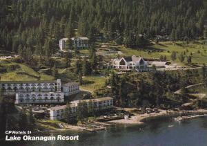 Aerial View, CP Hotels Lake Okanagan Resort, Kelowna, British Columbia, Canad...