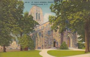 North Carolina Winston Salem St Paul's Episcopal Church 1945