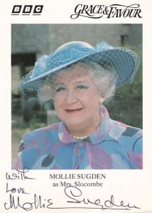 Mollie Sugden Grace & Favour Are You Being Served Hand Signed Photo