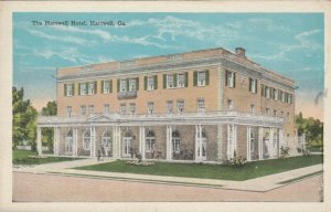 HARTWELL , Georgia, 1910-30s ; Hartwell Hotel