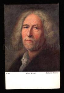 022699 ALTER MANN Old Man by Baltasar DENNER vintage Color PC