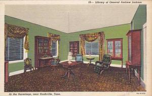 Library of General Andrew Jackson, Nashville, Tennessee,   30-40s