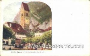 Interlaken Swizerland, Schweiz, Svizzera, Suisse Public Square  Public Square