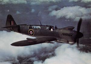 Postcard Fairey Firefly I, Z2035 RAF Aircraft After The Battle Series No.3