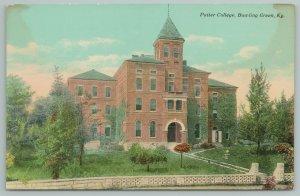 Bawling Green Kentucky~Putter College Building~Vintage Postcard