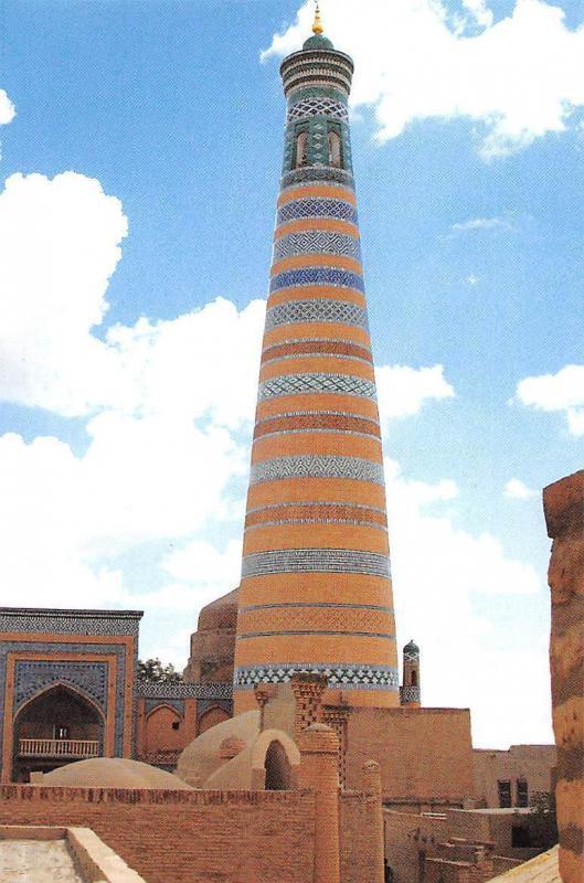 Uzbekistan Khiva The Islam Khoja Minaret
