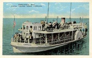 CA - Santa Catalina, Avalon. SS Empress, Glass-Bottom Boat