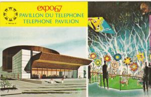 MONTREAL, Quebec, Canada; 2-Views,  Expo67, The Telephone Asscoiation of Cana...