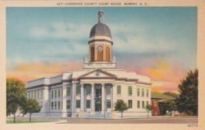 North Carolina Murphy Cherokee County Court House