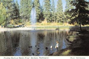 Manito Pond - Spokane, Washington