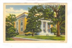 Sumter County Court House, Sumter, South Carolina, 30-40s