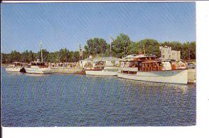 Harbour Scene, Port Elgin,  Ontario, Clear 1959 Cancel and Message