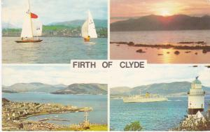 Post Card Scotland Firth of Clyde