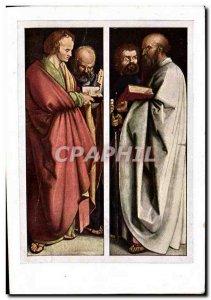 Old Postcard Last Die Vier Upoftel Apostles