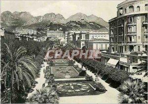 Postcard Modern chin 12912 public garden