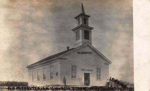 LEVERING, OHIO OLD PRESBYTERIAN CHURCH-1915 RPPC REAL PHOTO POSTCARD