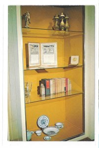 Treasure Closet Green HIlls Farm Home Pearl S Buck Perkasie PA Vintage Postcard