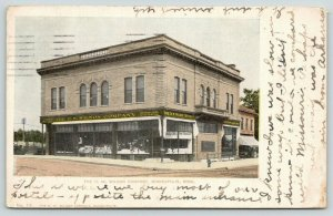 Minneapolis MN~HW Wilson Company~Book Store~Where We Buy Our Postals~1908 PC