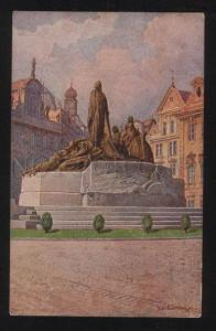 059476 Praha monument of John Hus at big place Old