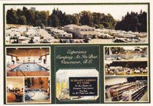 Canada Vancouver Burnaby Cariboo R V Park Trailer Park