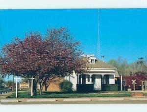 Unused Pre-1980 MUSEUM SCENE Panhandle Texas TX hs9246