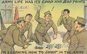 Military Comic Postcard Postcards