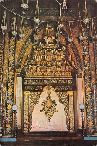 Turkey Bursa The Interior of Ulu Mosque, Ulu Cami ici