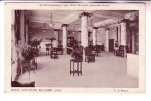 Hotel Nonotuck, Holyoke, Massachusetts, PJ Behan, George Graves Co Photo-Type...