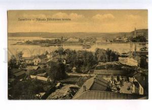 232882 FINLAND Savonlinna from tower Nakyala Vintage postcard