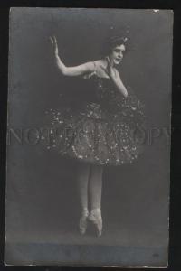 102623 KANDAUROVA Russian BALLET Star FAIRY vintage PHOTO PC
