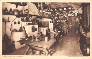 France Musee Alsacien la Cuisine Elsassisches Museum Kueche Kitchen