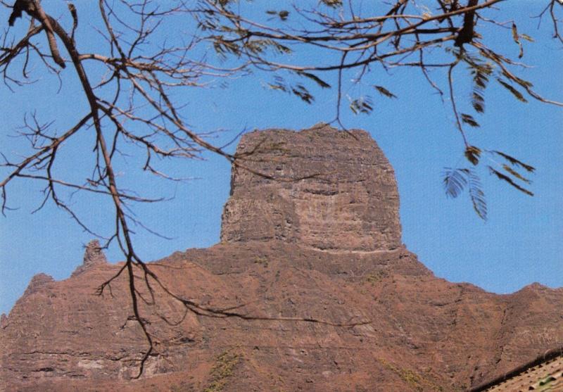 Postcard, Sao Jorge, Santiago, Cape Verde Islands, Africa D9
