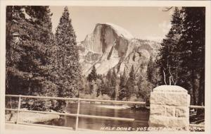 Half Dome Yosemite National Park California Real Photo