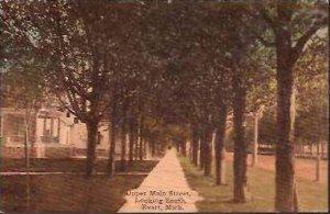 MI Evart Upper Main Street 1911